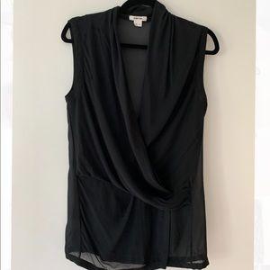 Helmut Lang sleeveless blouse